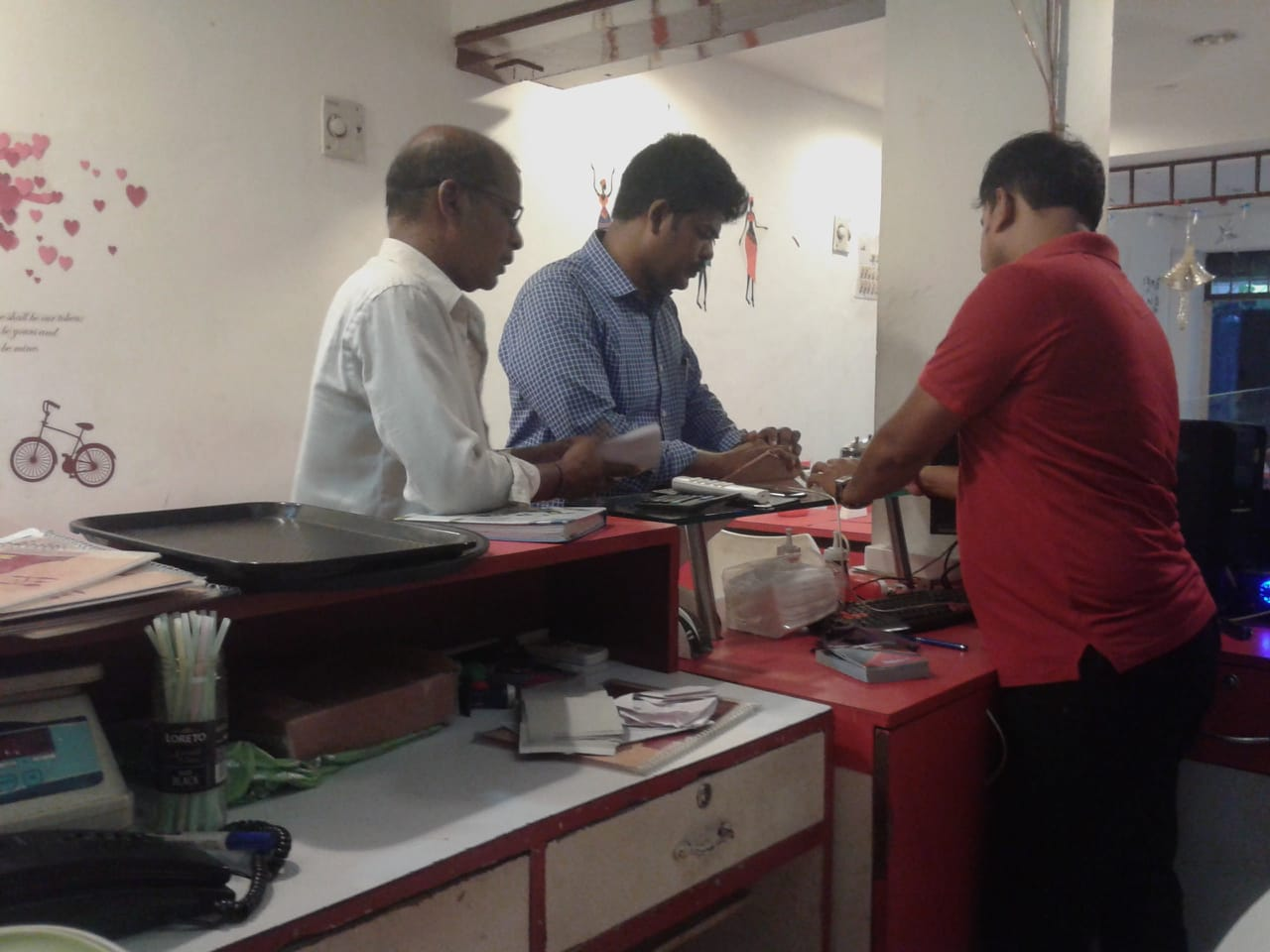 Inspection at a Dealer premises in Villianur, Puducherry - 1